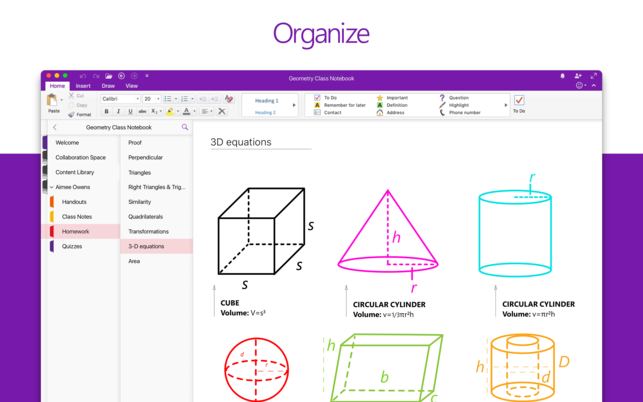 Digitale Notizbücher OneNote
