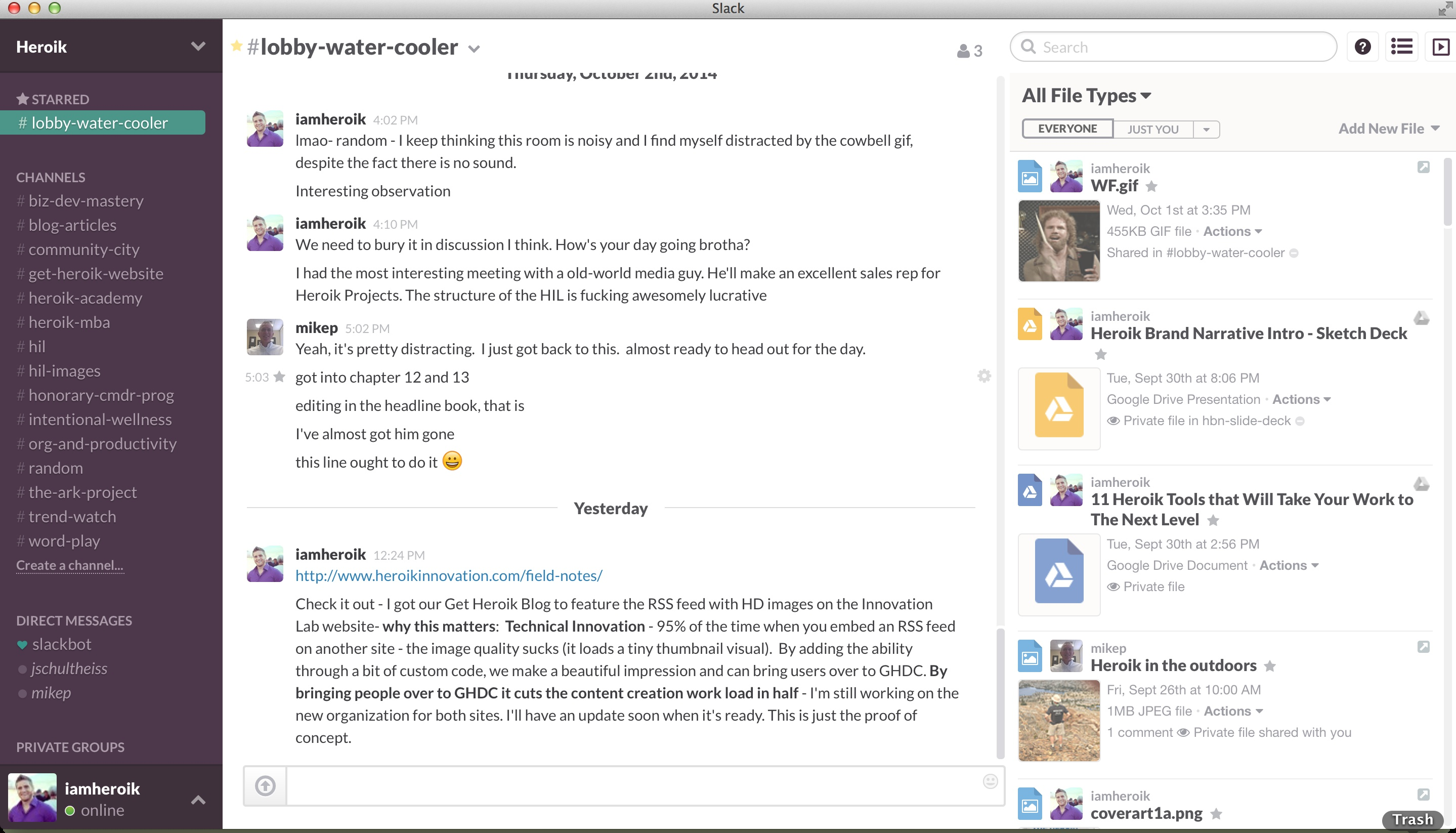 interne Kommunikation: Messenger Slack