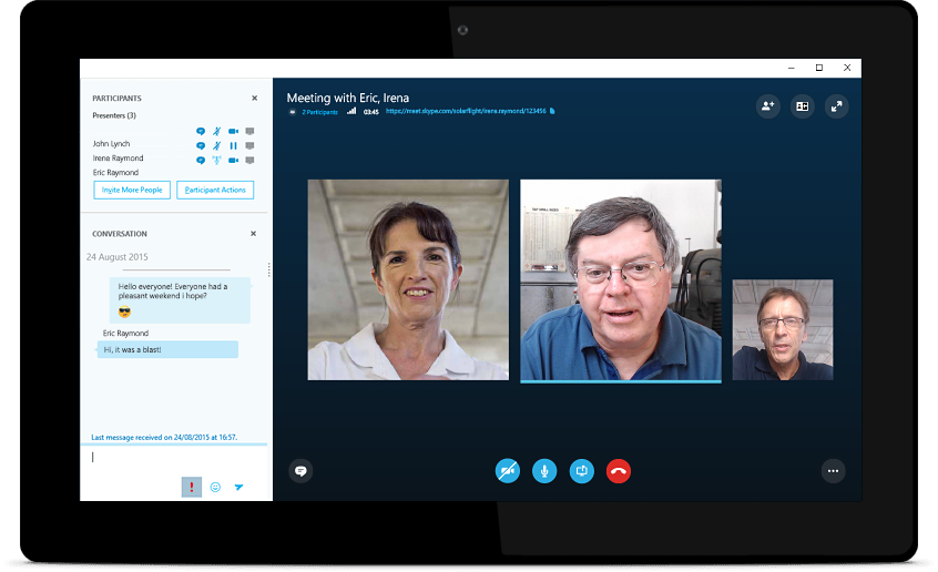 Cloud Videotelefonie Skype for Business