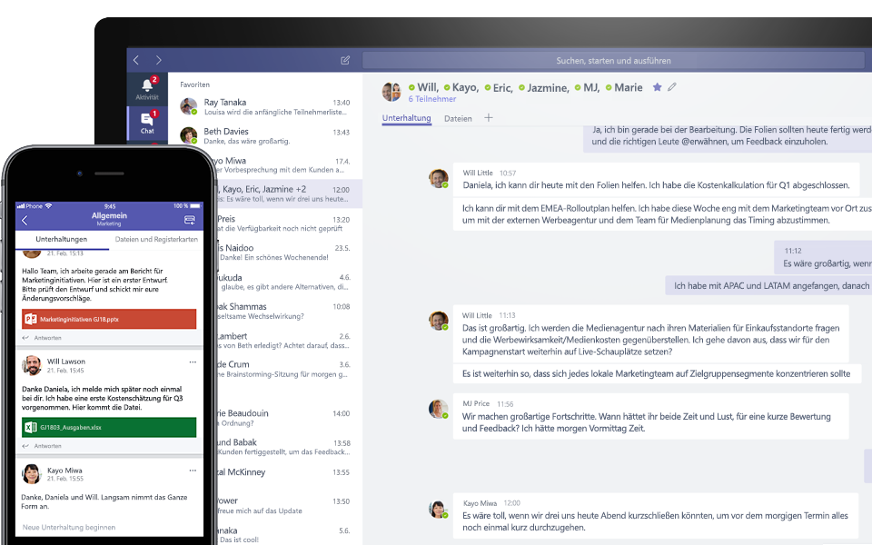Microsoft Teams vs. Slack