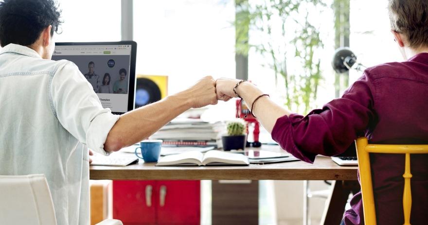 Cloud im Unternehmen Teamwork