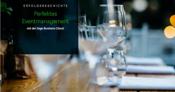 Perfektes Eventmanagement mit der Sage Business Cloud