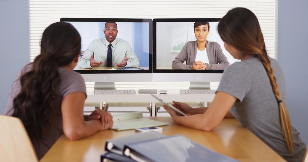 Entwicklung der Videokonferenzen